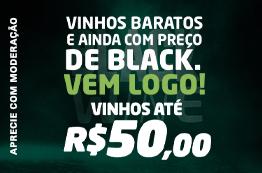 2º - Vinhos Até R$50