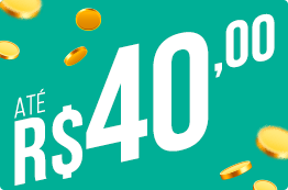Até R$ 40