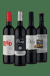 Kit Tintos Portugueses (4 vinhos)