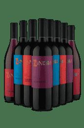 Kit Zuncho - Tintos Secos (8 Vinhos)