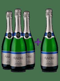 Compre 3 Leve 4 - Espumante André Moscato