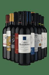 Kit Tintos Europeus Premium (10 Vinhos)