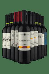 Kit Novidade Tintos (10 Vinhos)