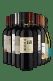 Kit Black Friday Premium - 5 Paises (10 Vinhos)