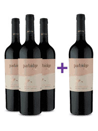 Compre 3 e leve 4 Partridge Flying Malbec 2019