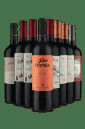 Kit Harmonize com Churrasco (8 vinhos)