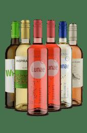 Kit Vou de Branco e Rosé (6 Vinhos)