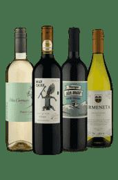 Kit Sabores em 4 Uvas (4 vinhos)