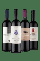 Kit Meio Seco 4 Países (4 Vinhos)