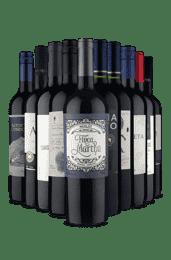 Kit Merlot, Pufavô (10 Vinhos)