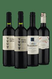 Kit Espanha e França Tintos (4 Vinhos)