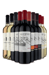 Kit 3 Familia de Secos (10 Vinhos)