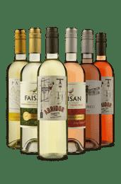 Kit Brancos e Rosés (6 Vinhos)