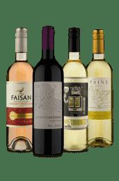 Kit Variedades para sua Adega (4 Vinhos)