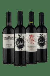 KIt Seleção Tempranillo (4 Vinhos)