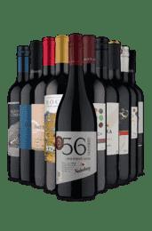 Kit Países Variados Tintos (10 Vinhos)