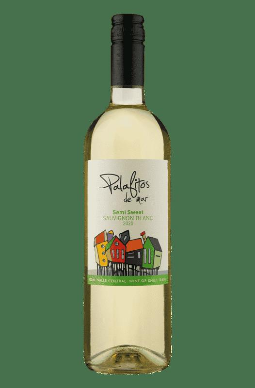 Palafitos de Mar Semi Sweet Sauvignon Blanc 2020