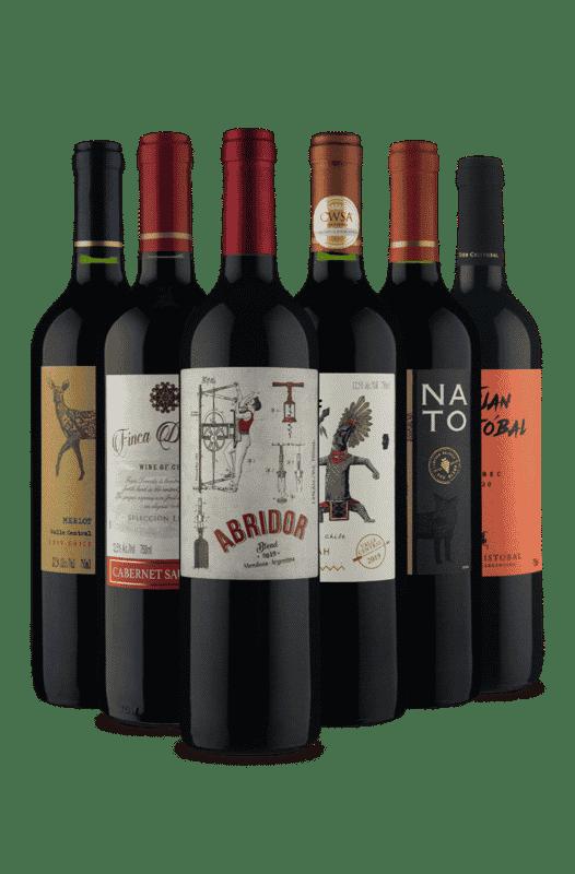 Kit América do Sul (6 Vinhos)