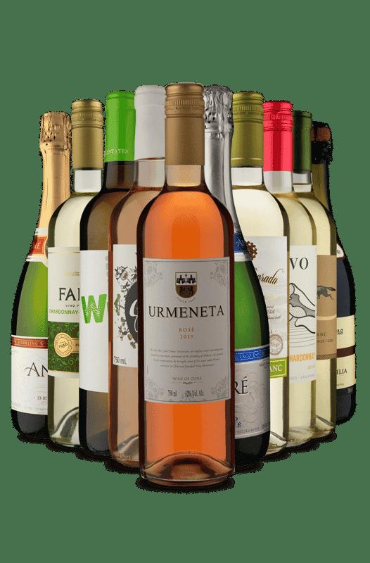 Kit 10 Refrescantes (10 Vinhos)