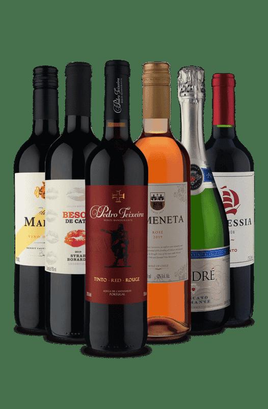 Kit Variados (6 Vinhos)
