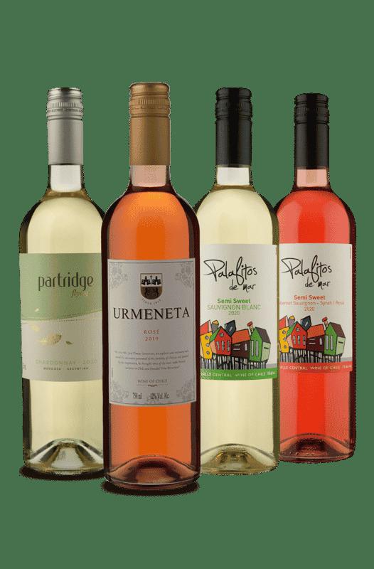 Kit Latino - Brancos e Rosés (4 Vinhos)