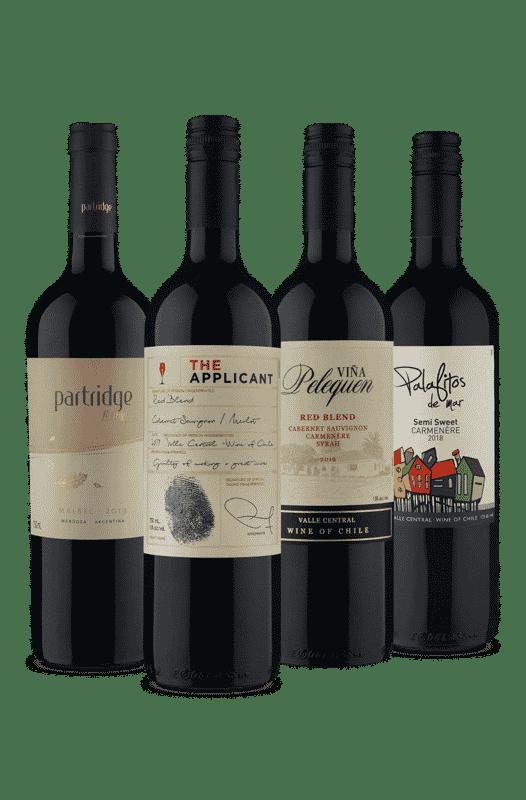 Kit Tintos Sul Americanos (4 Vinhos)