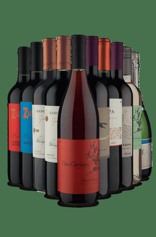 Kit Melhores da Semana (10 Vinhos)