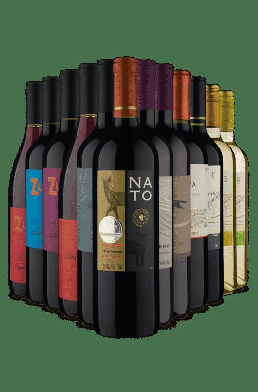 Kit Chileno - Especial Site Novo (12 Vinhos)