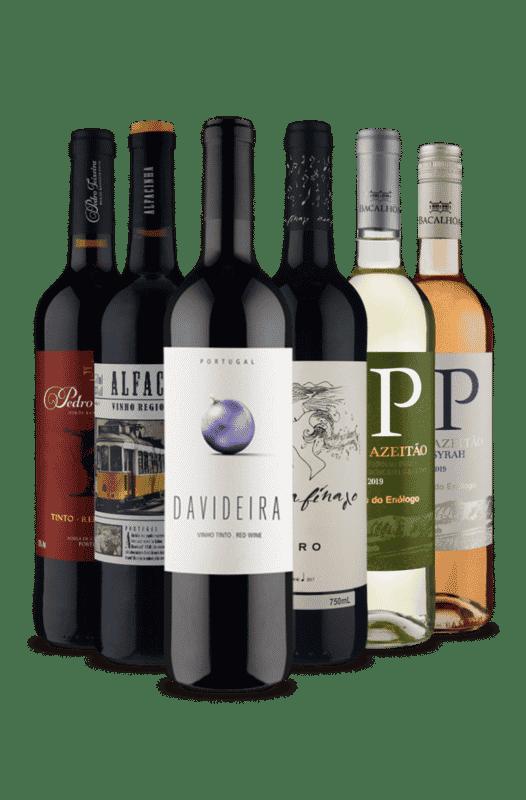 Kit Portugal em Taças (6 Vinhos)