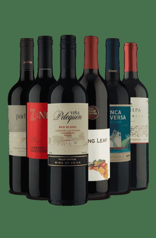 Kit Cabernet Sauvignon Américas (6 Vinhos)