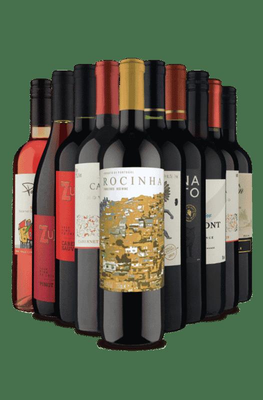 Kit Relâmpago Tintos Maravilha (10 Vinhos)