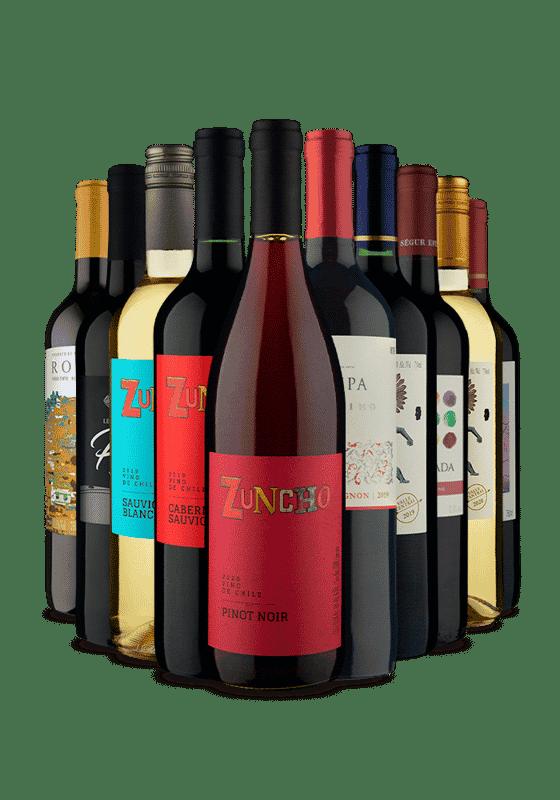 Kit Chile e Portugal (10 Vinhos)