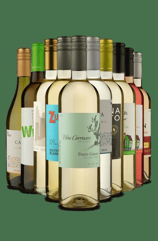 Kit Oportunidade Brancos e Rosés (10 Vinhos)