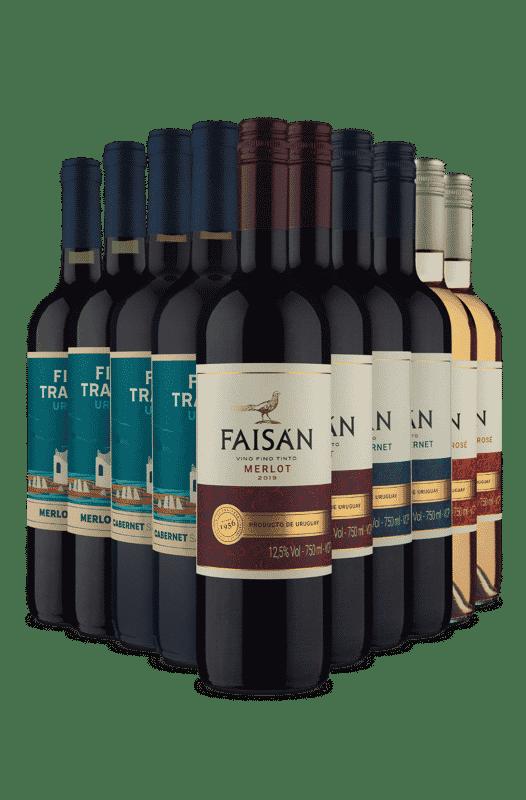 Kit Maravilhas Uruguaias (10 Vinhos)