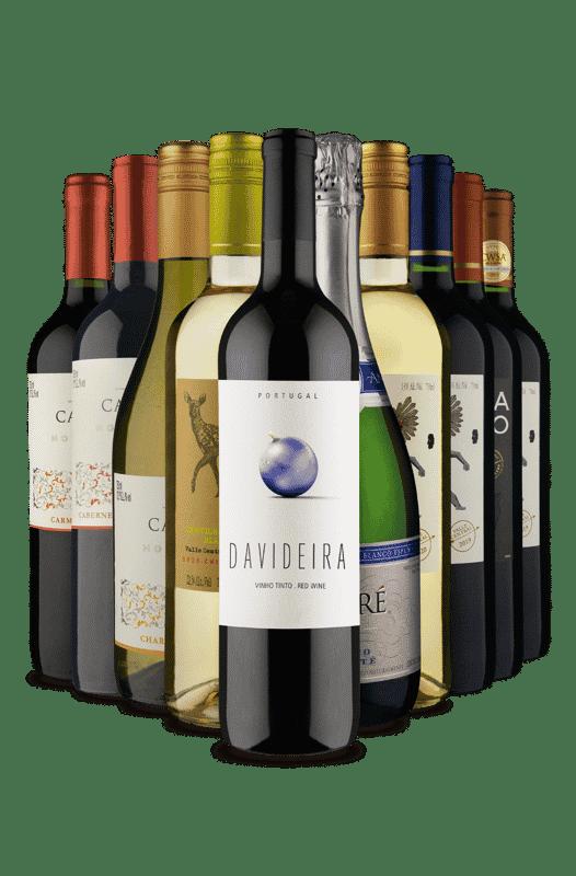 Kit Misturas Vinhos Fácil (10 Vinhos)