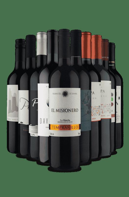 Kit Tintos Selecionados (10 Vinhos)