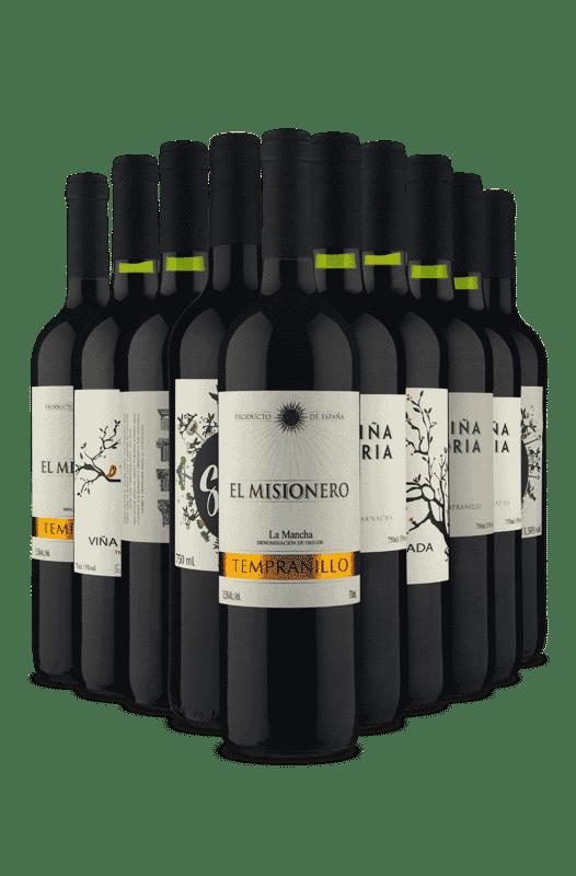Kit Duplas Espanholas (10 Vinhos)
