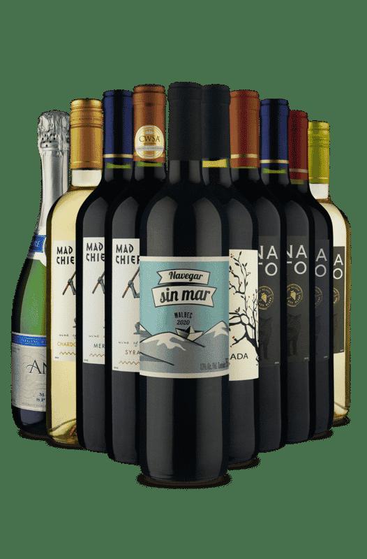Kit Sabores Premium Vinho Fácil (10 Vinhos)