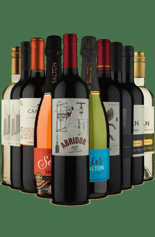 Kit América Premium Vinho Fácil (10 Vinhos)
