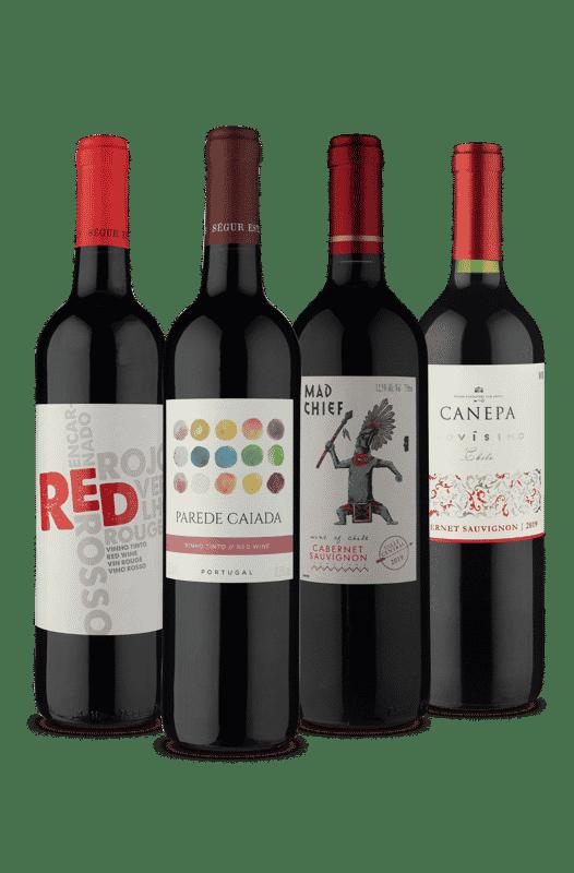 Kit Especial Quarteto Chile e Portugal (4 Vinhos)