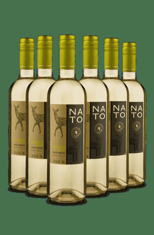 Kit Nato Sauvinon Blanc 2020 (6 Vinhos)