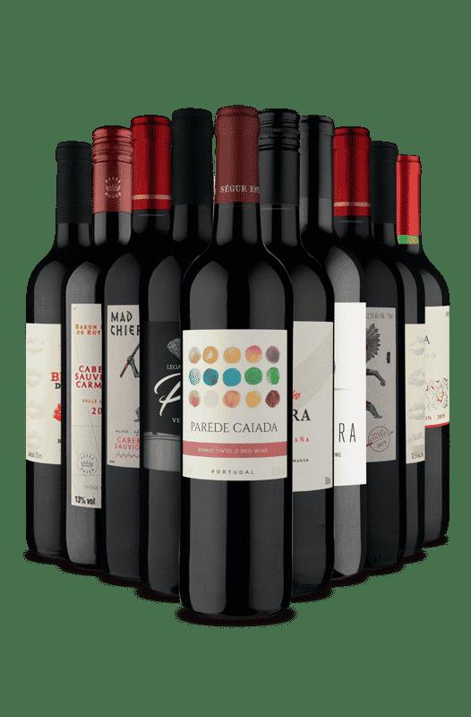 Kit Tintos Mais Vendidos (10 Vinho)