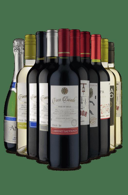 Kit Chile x Argentina x EUA (10 Vinhos)
