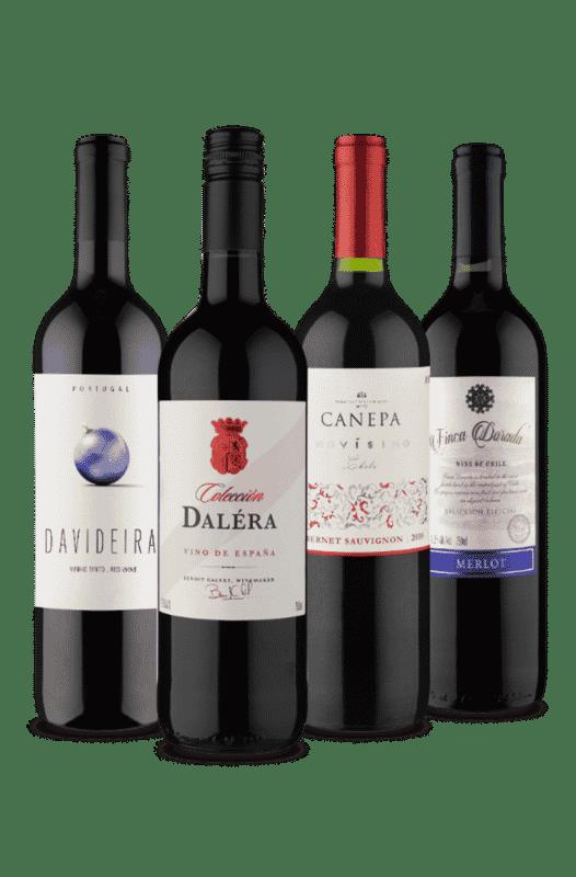 Kit Vinhos e Sabores (4 Vinhos)
