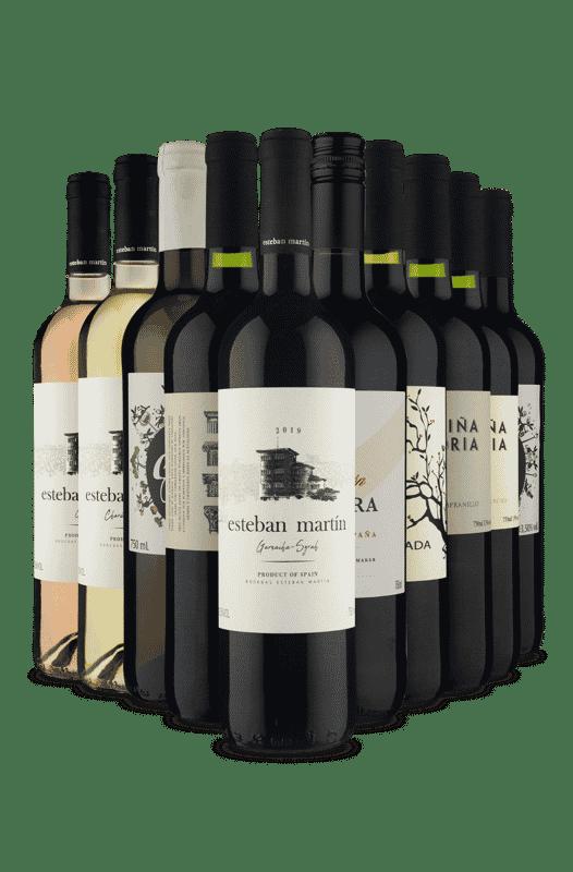 Kit Espanhois (10 Vinhos)