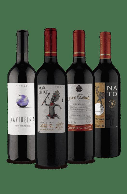 Kit Tintos Especiais (4 Vinhos)