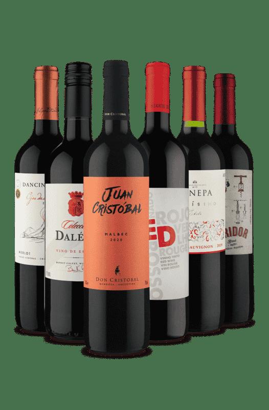 Kit Tintos Queridinhos (6 Vinhos)