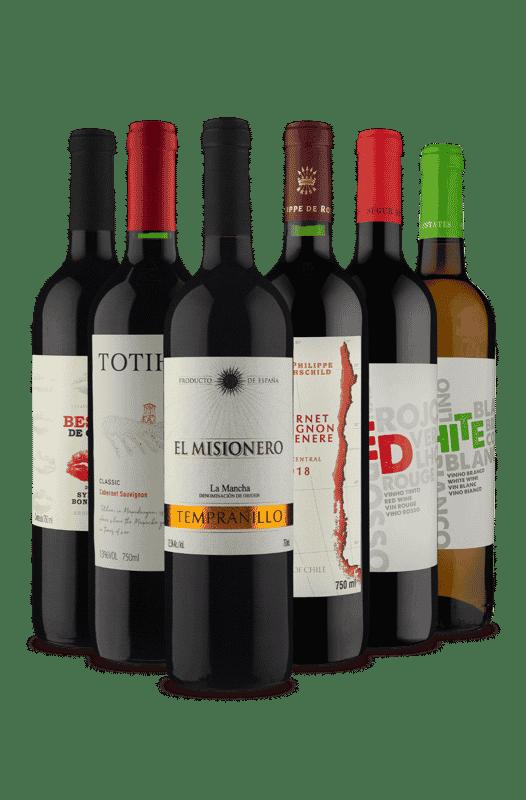 Kit Oferta Imperdível de Secos (6 Vinhos)
