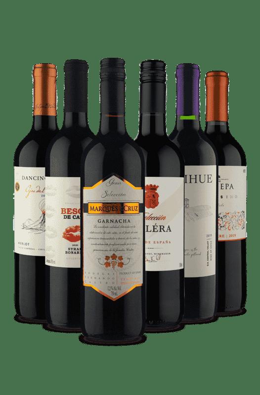 Kit 6 Tintos Fantásticos (6 Vinhos)