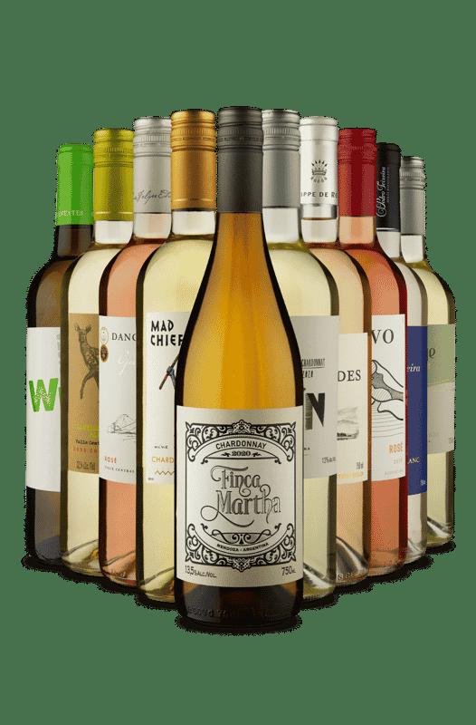 Kit Refrescantes Premium (10 Vinhos)